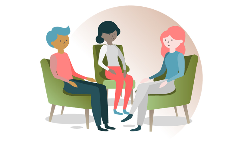 grup terapisi ve eşzamanlı terapi